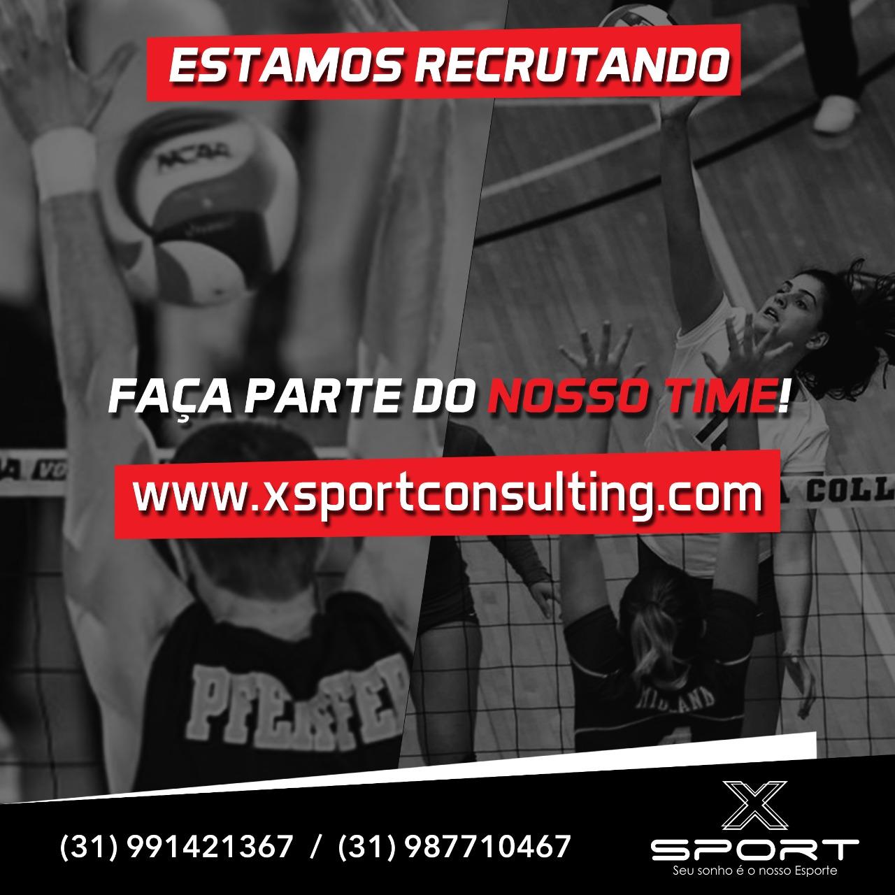 Recrutamento de voleibol feminino e masculino