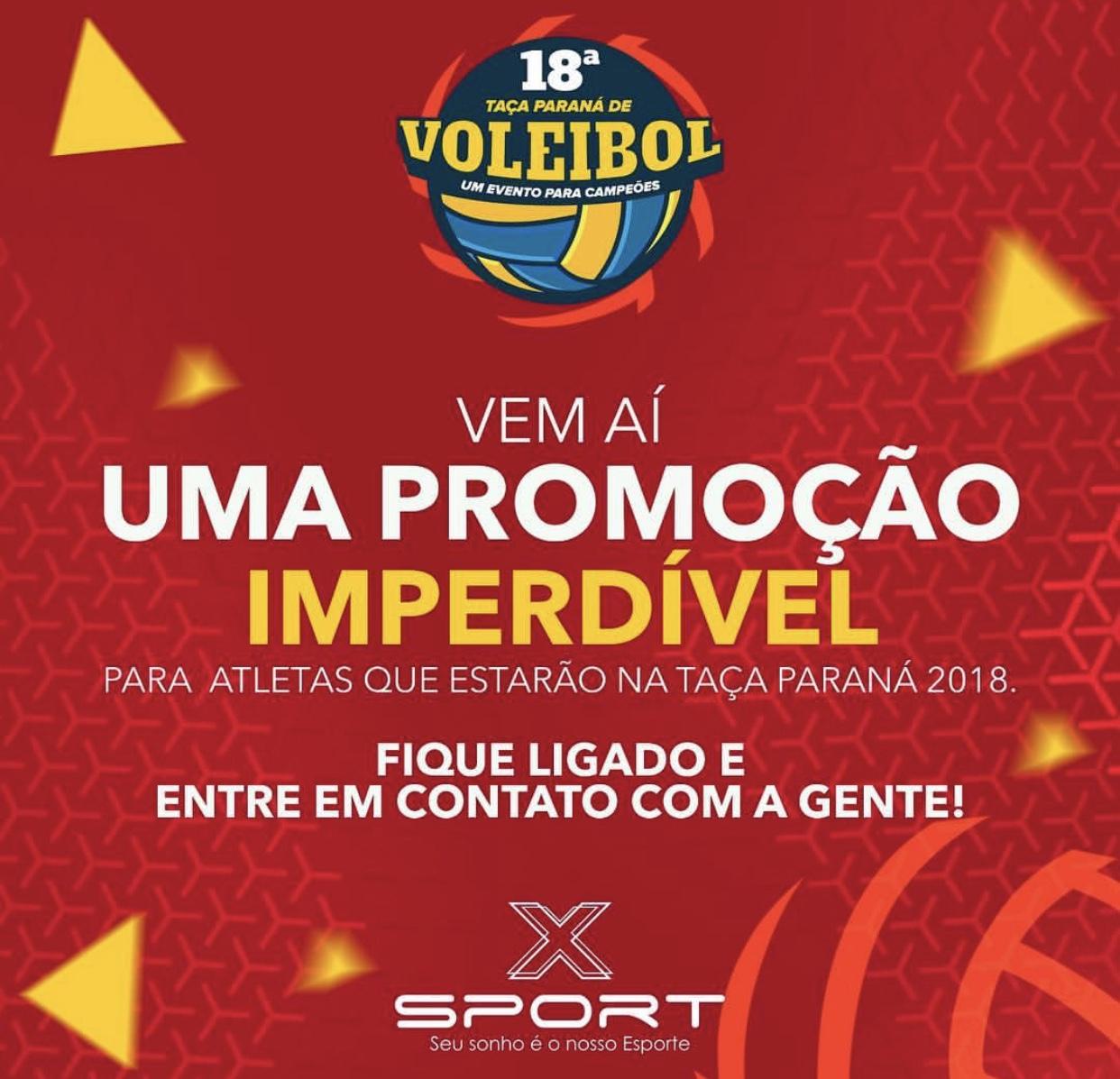 Atenção atletas que estarão na Taça Paraná 2018.