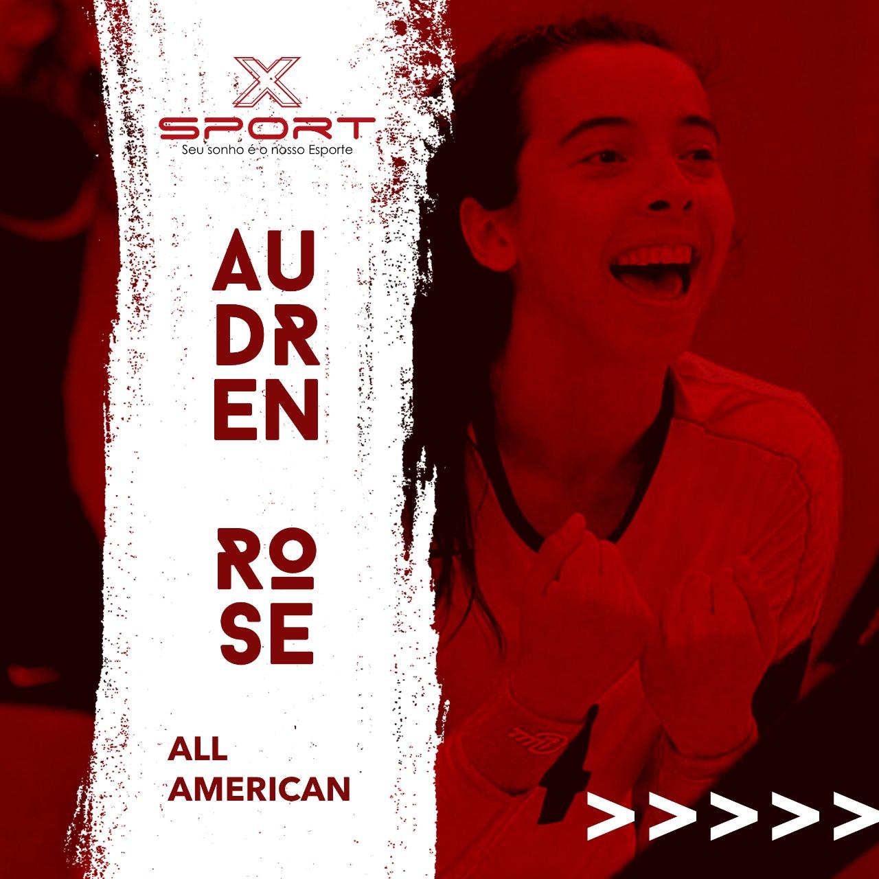 Audren Rose recebeu a premiação de All American pela liga NCAA