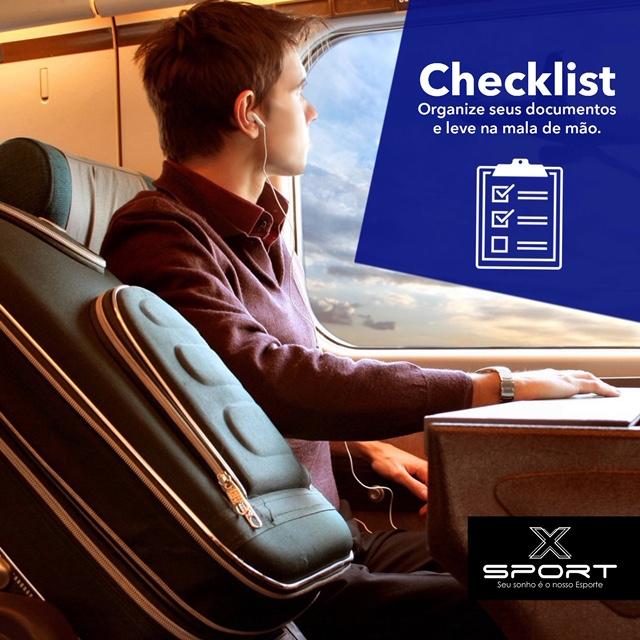Checklist : Organize seus documento e leve na mochila de mão