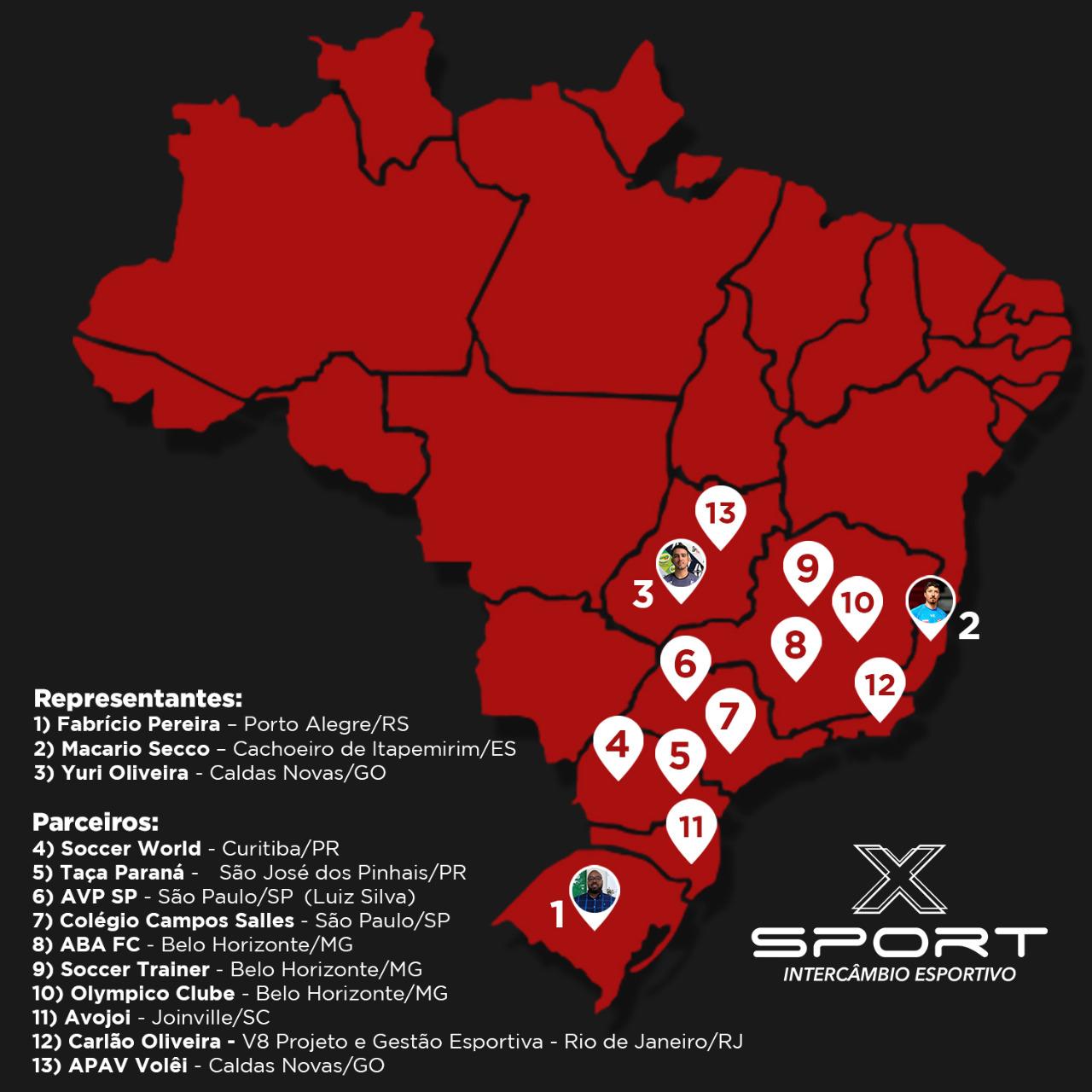 Parcerias pelo Brasil