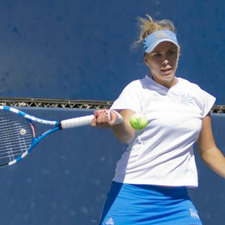 Women's Tennis vs Baylor on March 10, 2011 at LATC.